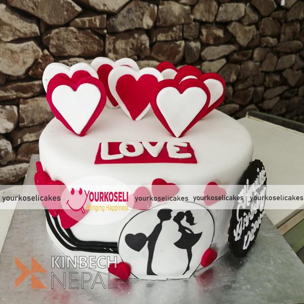 Send Cakes to Nepal from USA | www.kinbechnepal.com