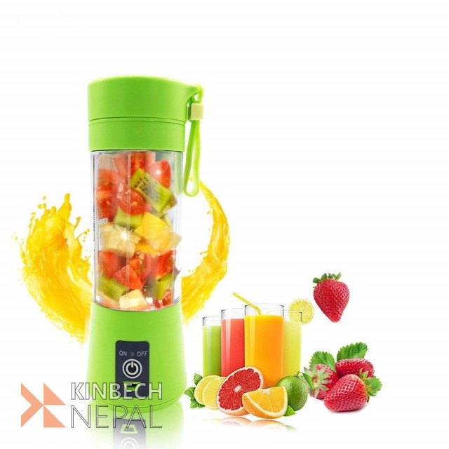 USB Rechargeable Portable Mini Fruit Juicer | www.kinbechnepal.com