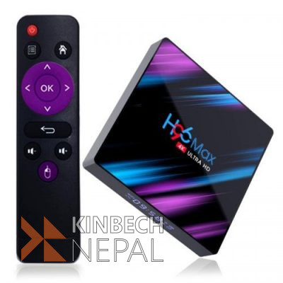 H96 max plus android tv box with 4gb ram and 64gb rom | www.kinbechnepal.com