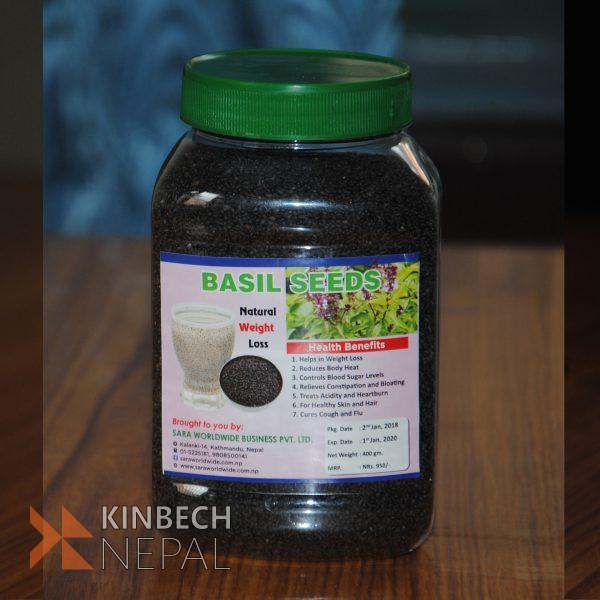 Basil Seeds | www.kinbechnepal.com