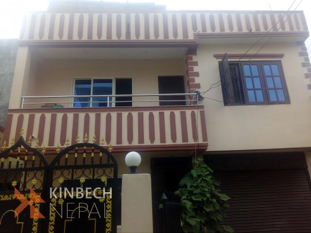 2 Floor House For Sale | www.kinbechnepal.com