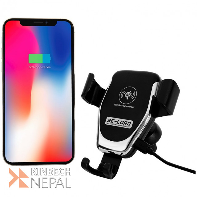 Wireless Phone Charger for Car | www.kinbechnepal.com