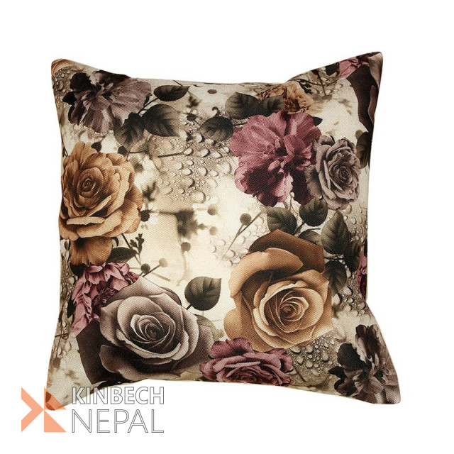 Digital Print Set Of 5 Cushion Cover - 16*16 Inch | www.kinbechnepal.com