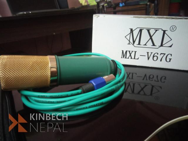 Condenser microphone V67g | www.kinbechnepal.com