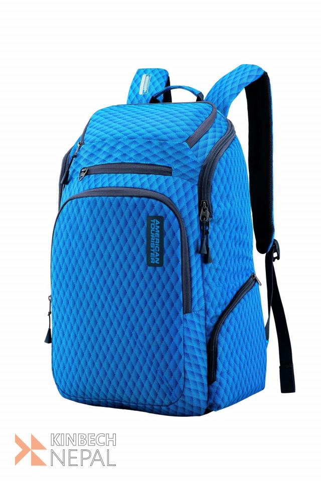 Laptop bag American Tourister ACRO +03 Blue | www.kinbechnepal.com