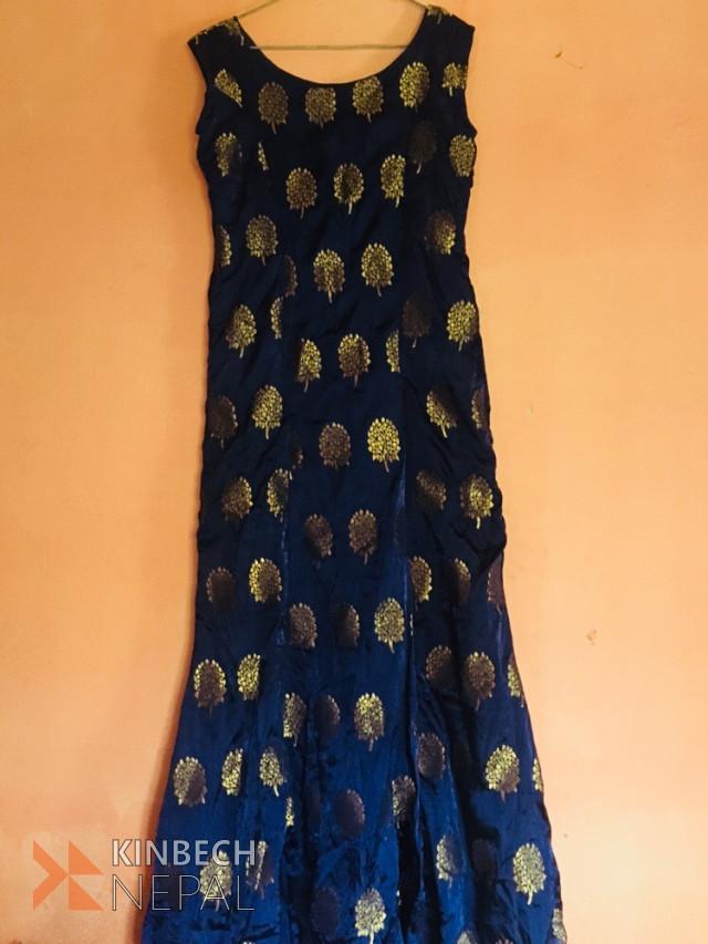 Silk Gown | www.kinbechnepal.com