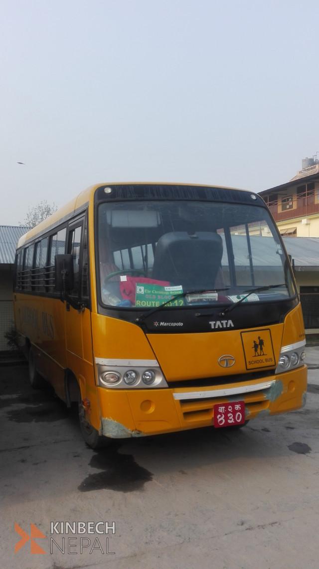 Tata Marcopolo School Bus | www.kinbechnepal.com