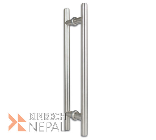 Door Handle set For Toughened Glass (LIGHT) By RV Plus | www.kinbechnepal.com