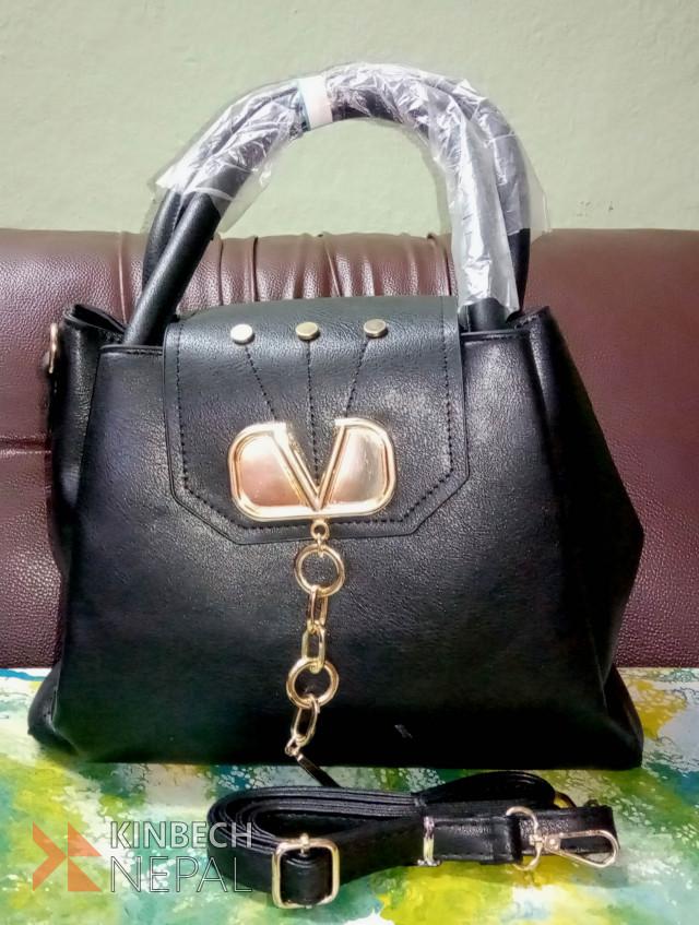 Black Ladies Bag | www.kinbechnepal.com