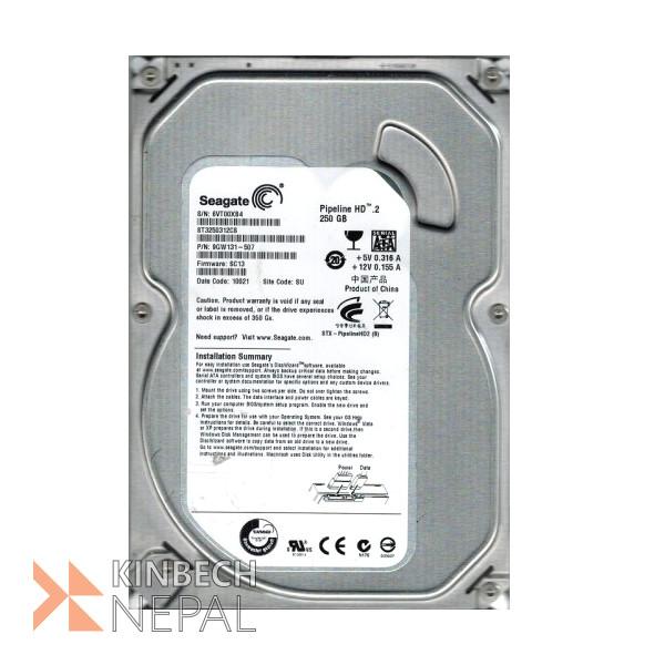 Seagate 250GB 7200 RPM Internal Desktop Hard Drive | www.kinbechnepal.com