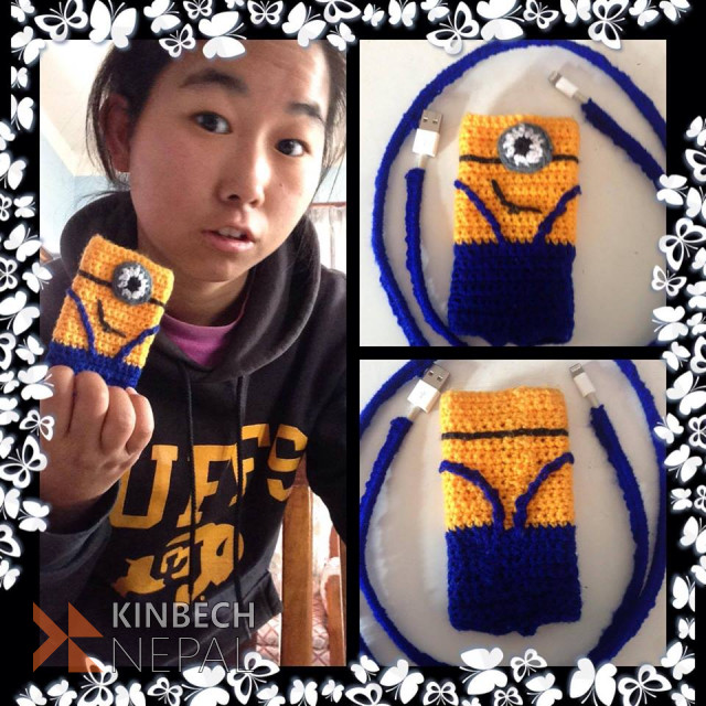 Crochet Phone Case | www.kinbechnepal.com