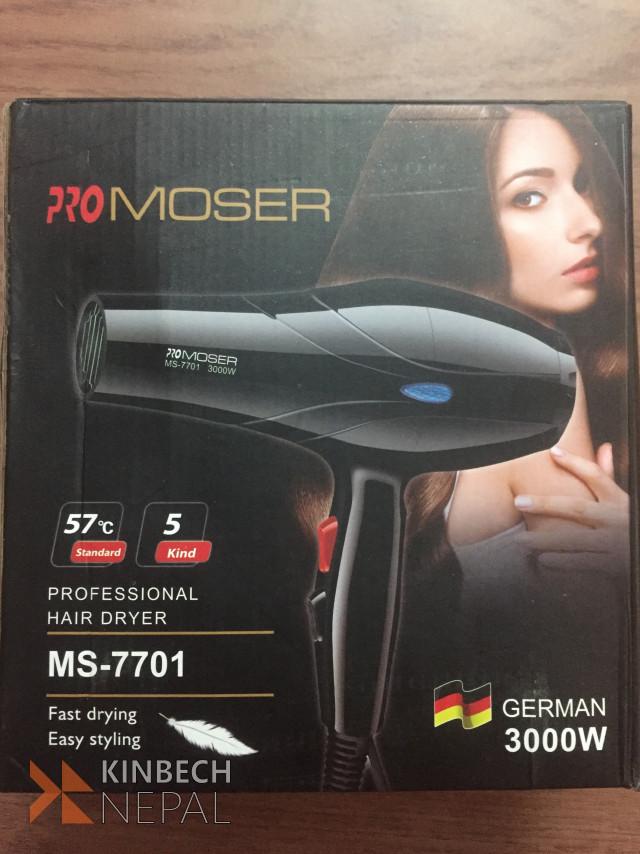 Pro Moser Hair Dryer | www.kinbechnepal.com