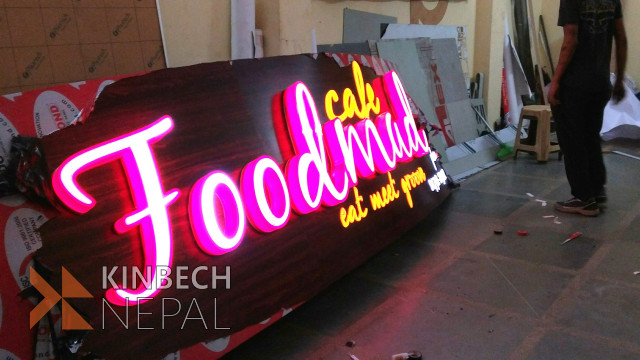 3D Sign Board | www.kinbechnepal.com