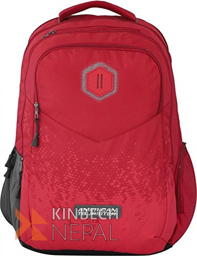 Laptop bag American Tourister INSTA +03 RED | www.kinbechnepal.com