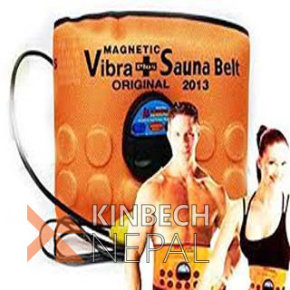 Vibra + Sauna Belt | www.kinbechnepal.com