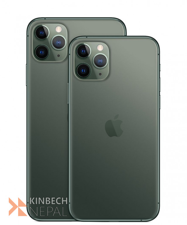 iPhone 11 Pro Max 256GB in black color   www.kinbechnepal.com