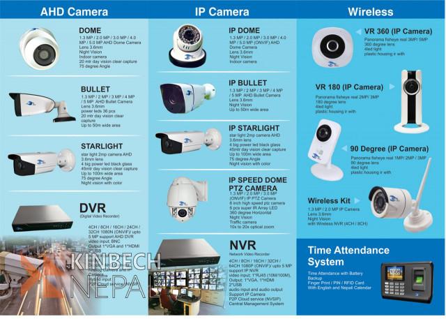 CCTV Camera System | www.kinbechnepal.com