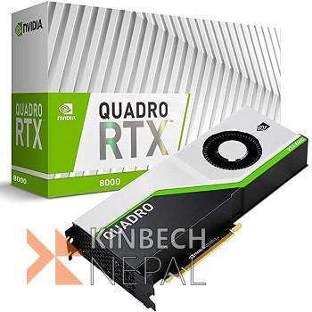QUADRO RTX 8000   www.kinbechnepal.com