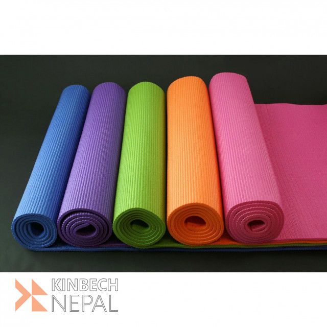 Multi-color Yoga Mat 6mm (colors Assorted) | www.kinbechnepal.com