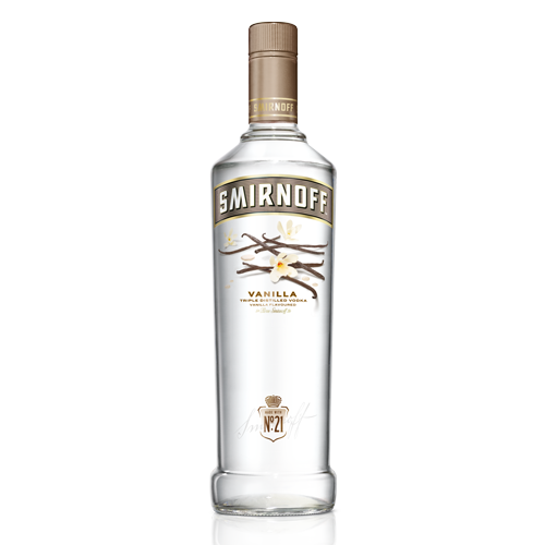 Smirnoff Vanila Twist Vodka - 750ml