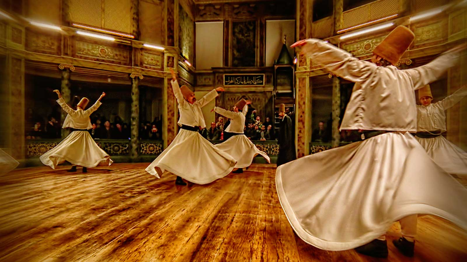 The Whirling Dervishes Show at the Hodja Pasha Culture Center