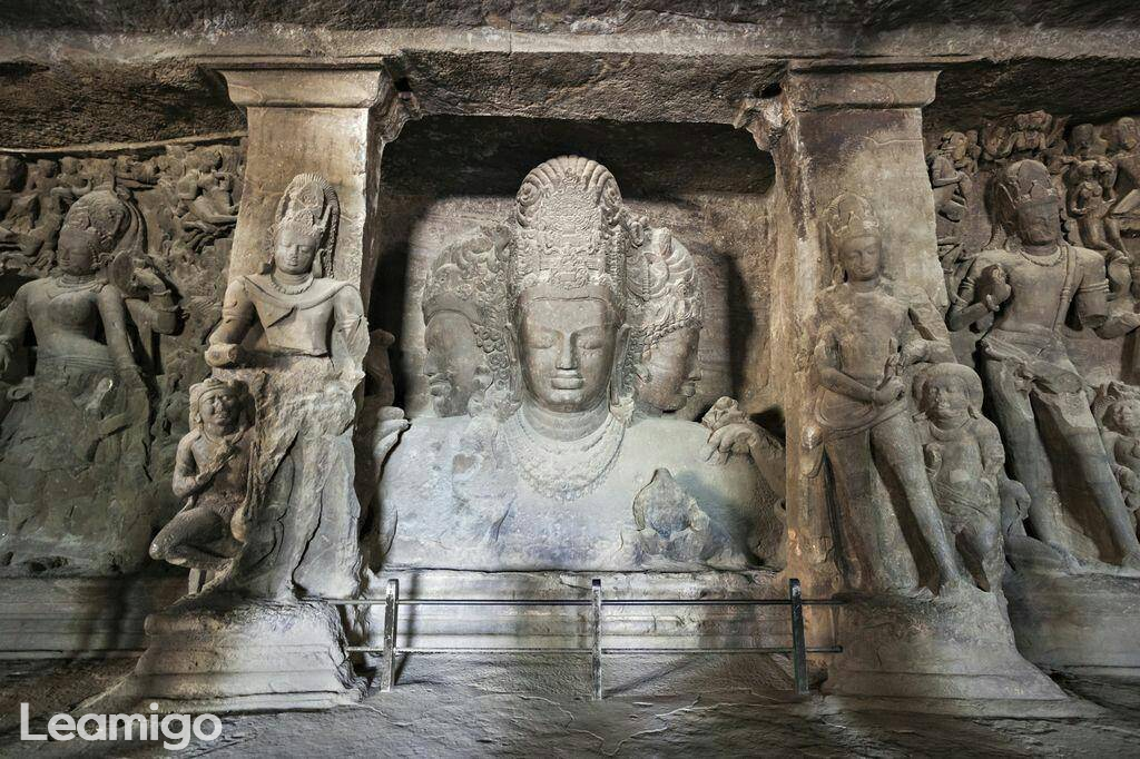 Elephanta Caves With A Guide