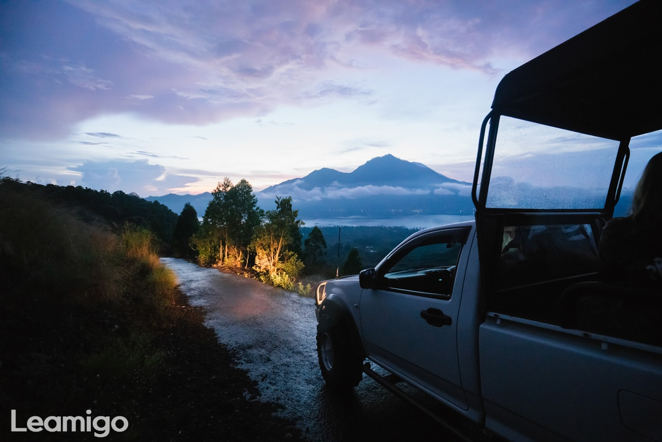 Mount Batur 4WD Jeep Adventure & Natural Hot Springs