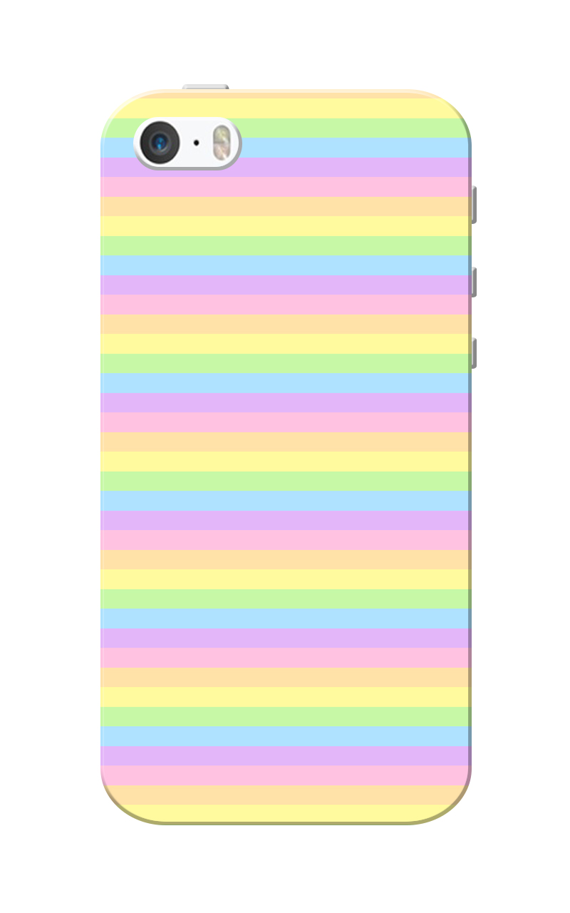 Caseria Neon Lines Slim Fit Hard Case Cover for Apple iPhone 5/5s