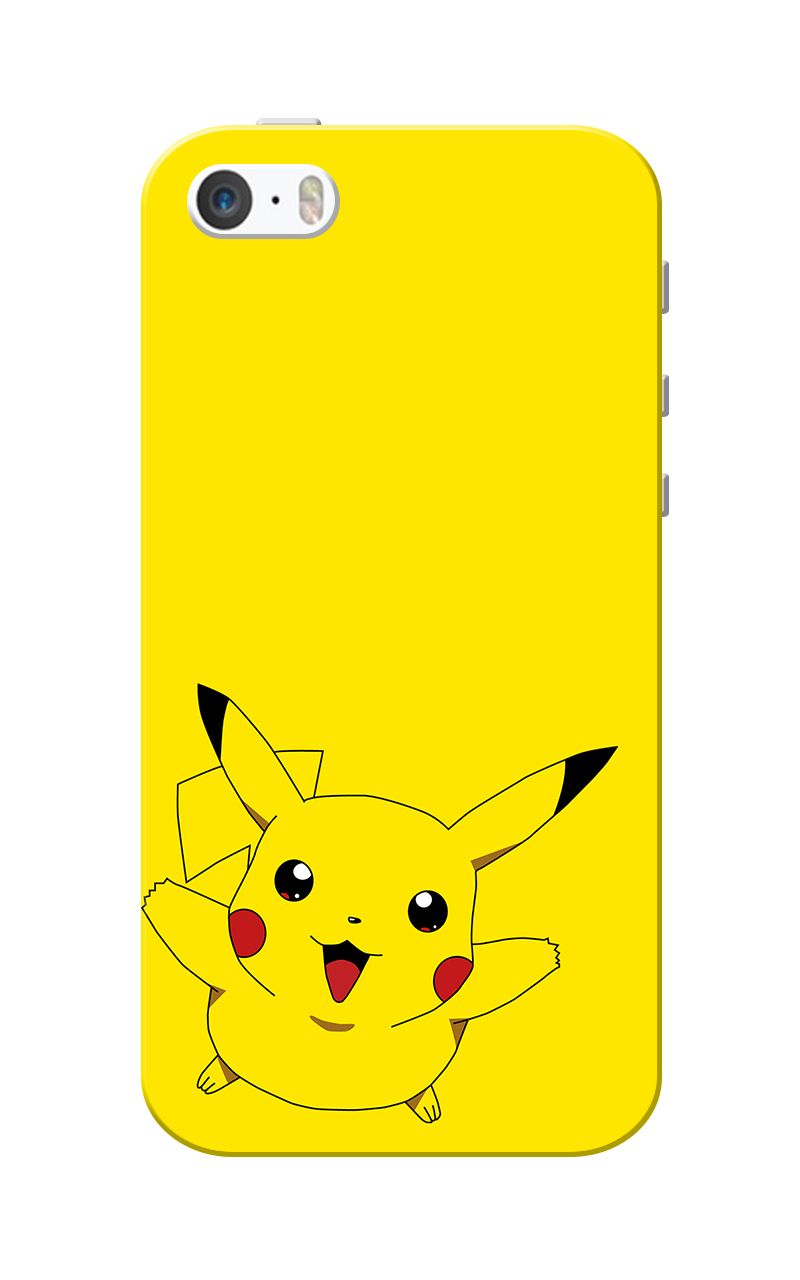 Caseria Piika. Slim Fit Hard Case Cover for Apple iPhone 5/5s