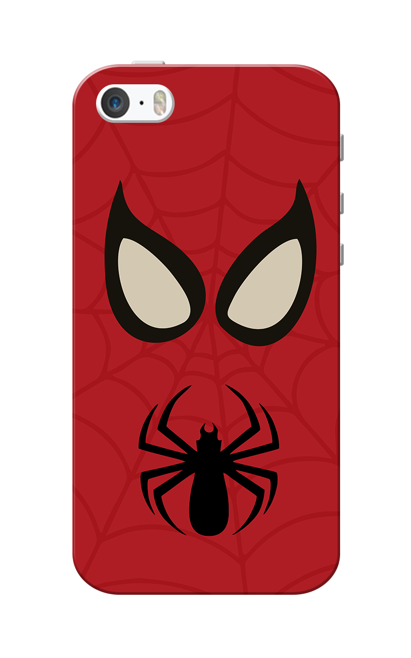 Caseria SPman Slim Fit Hard Case Cover for Apple iPhone 5/5s