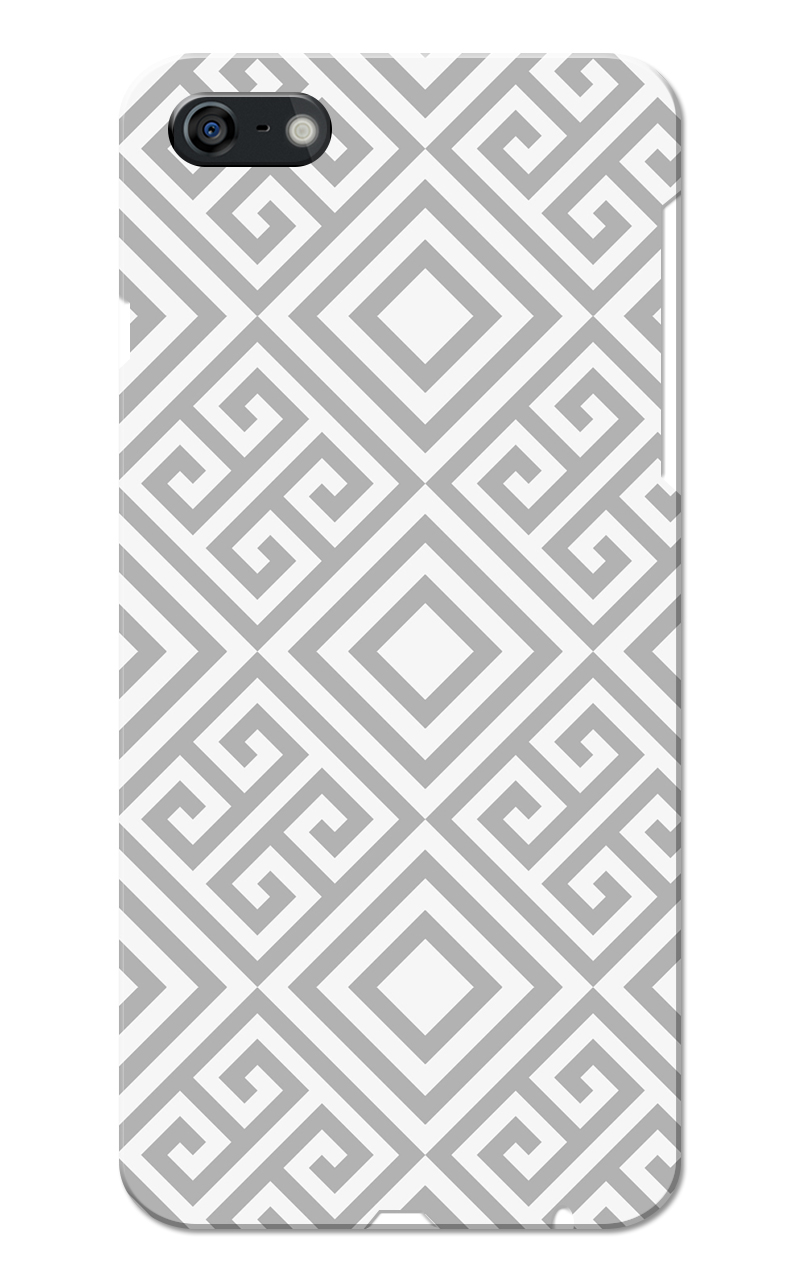Caseria Grey Square Pattern