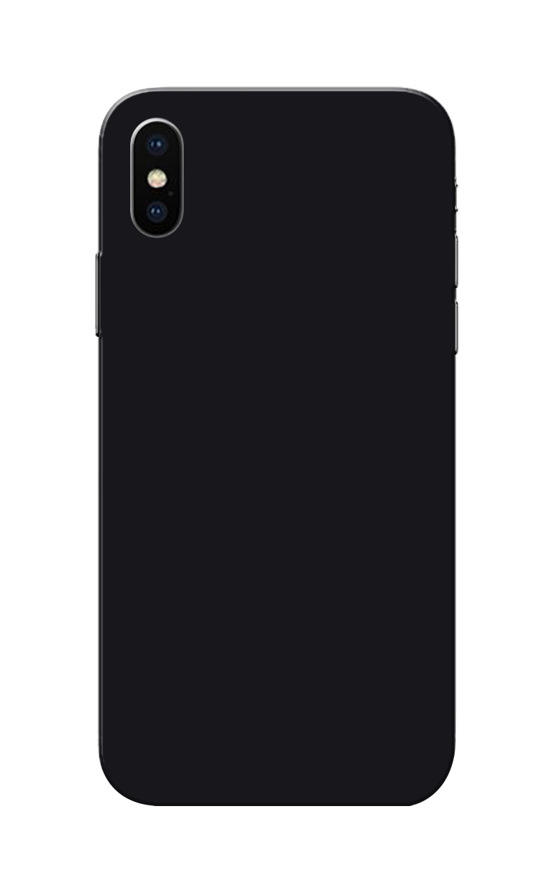 Caseria Black Plain Colour