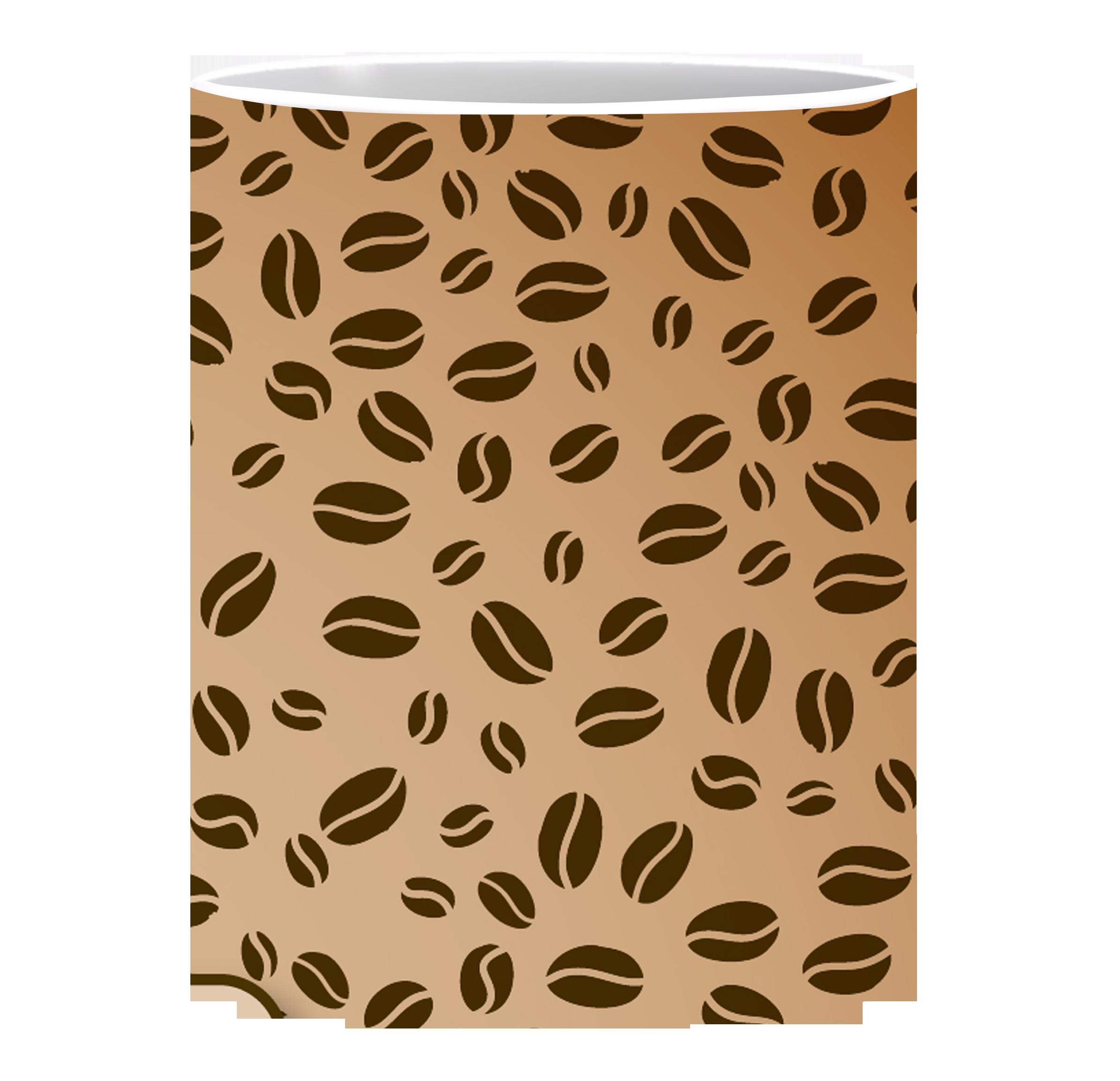 Coffee Mug, Coffee Beans