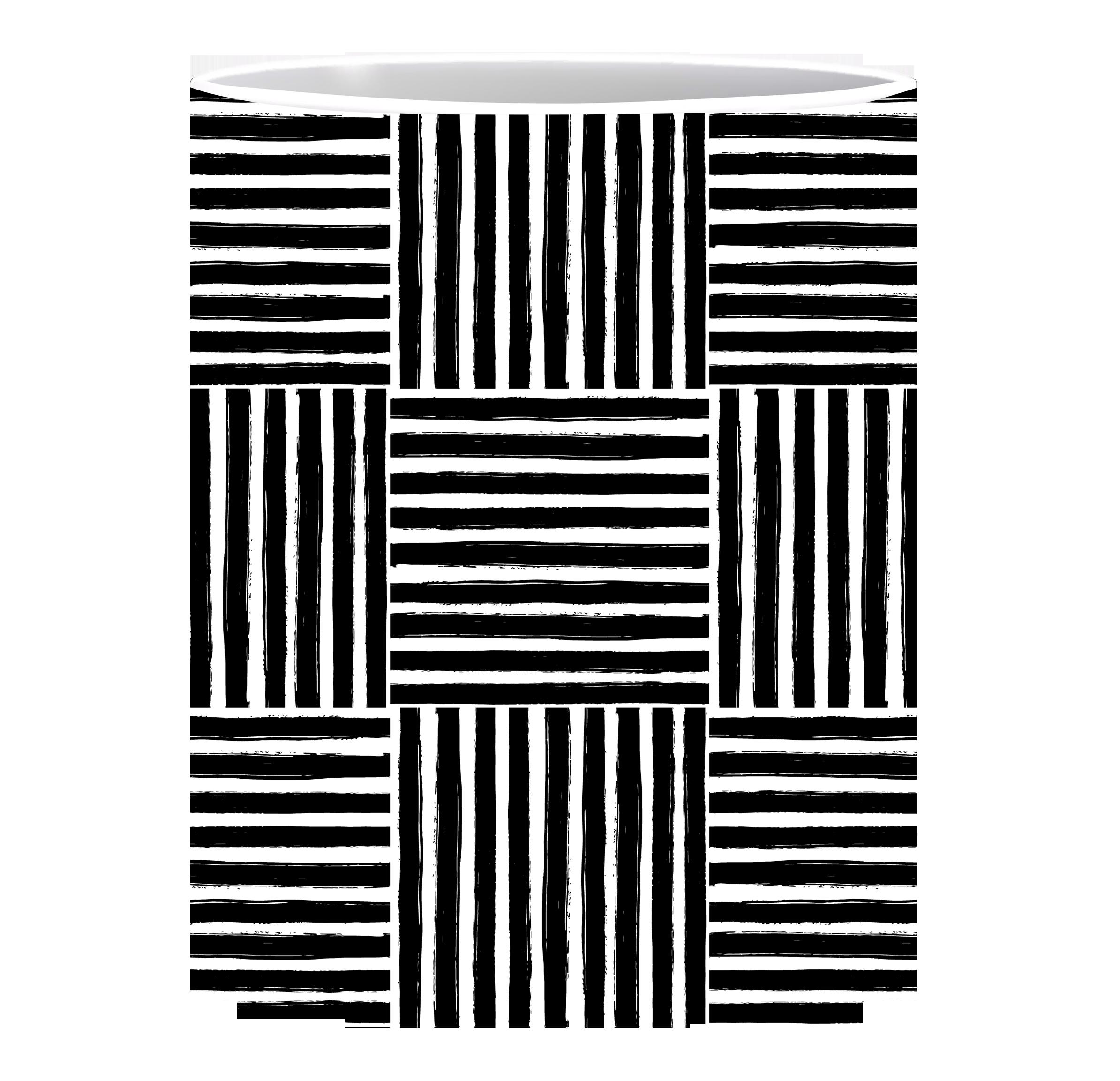 Coffee Mug, Black lines