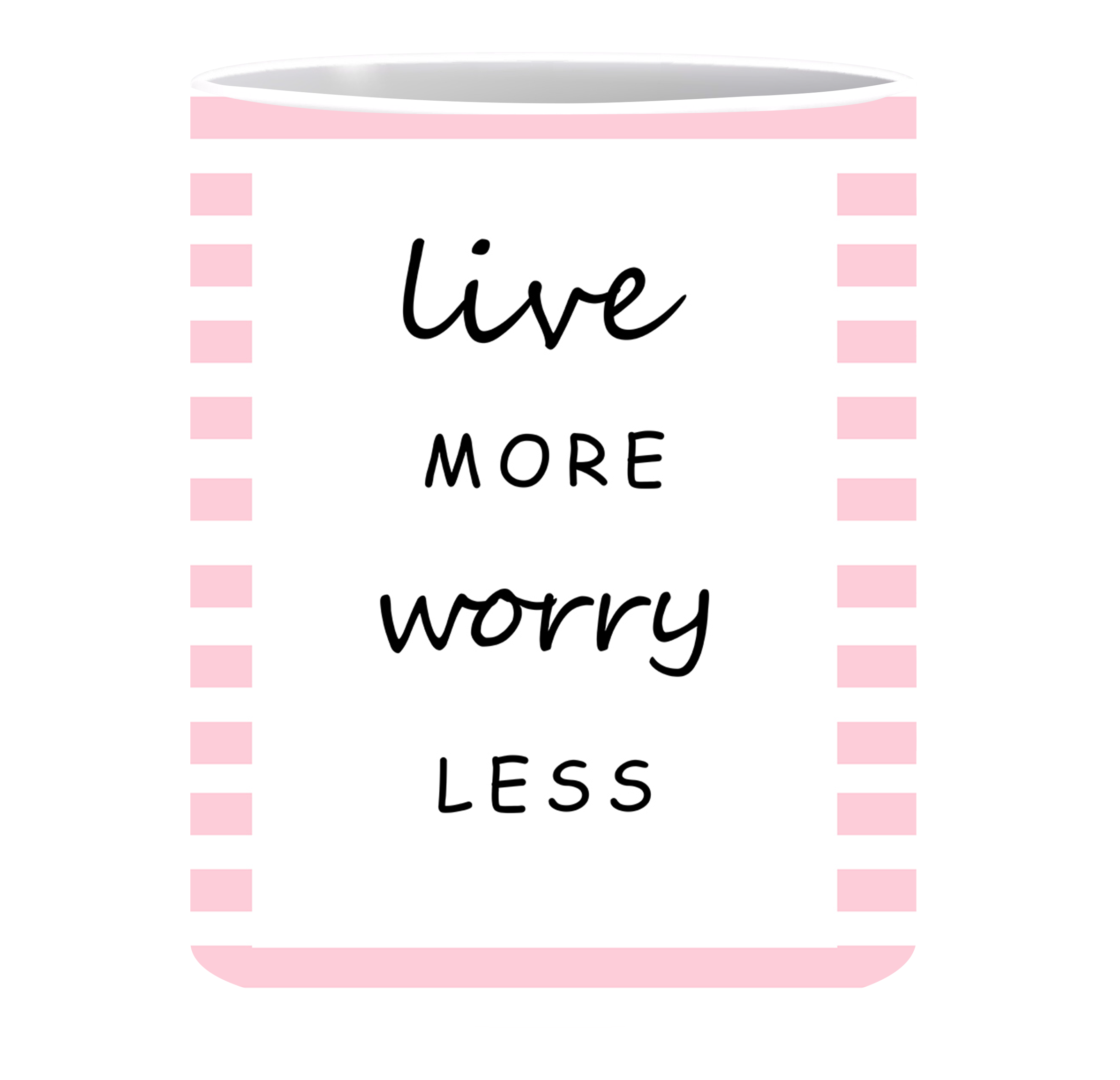 Coffee Mug, Worry Less