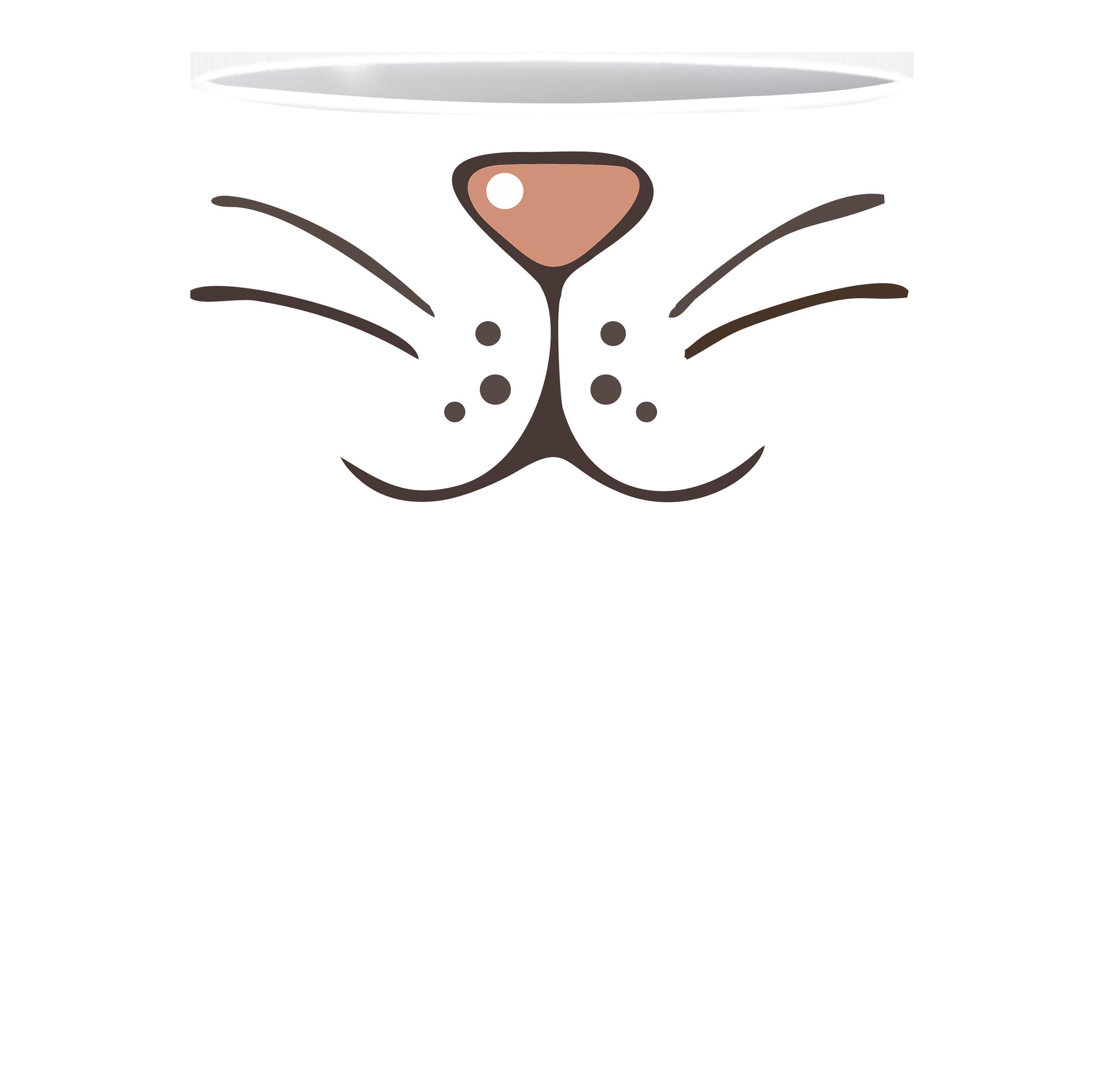 Coffee Mug, Cat Nose