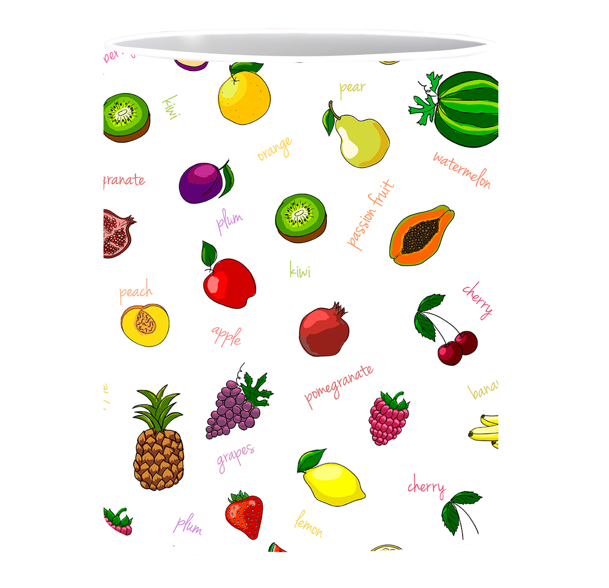 Coffee Mug, Fruits Patterns