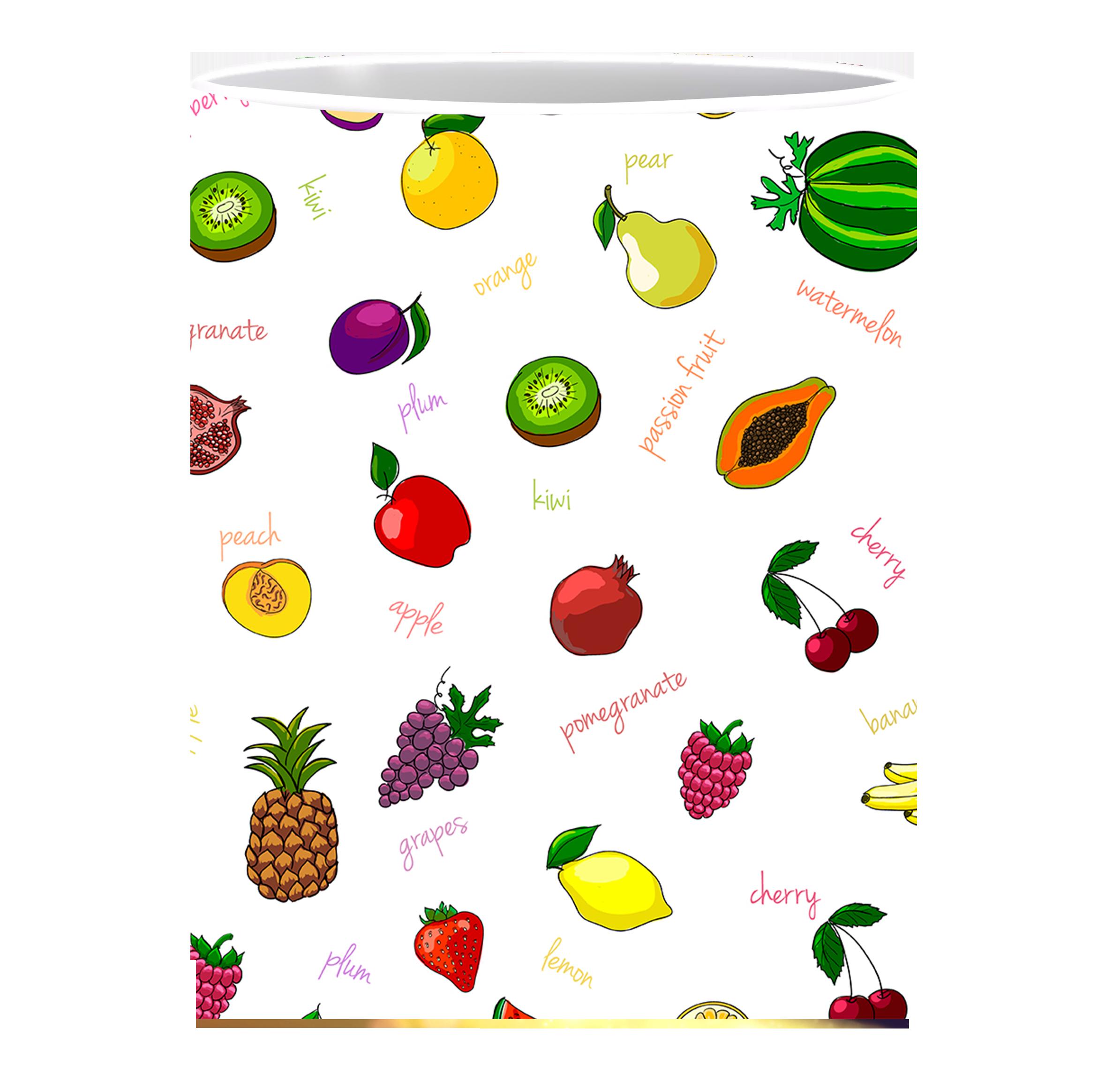 Coffee Mug, Fruits Patterns