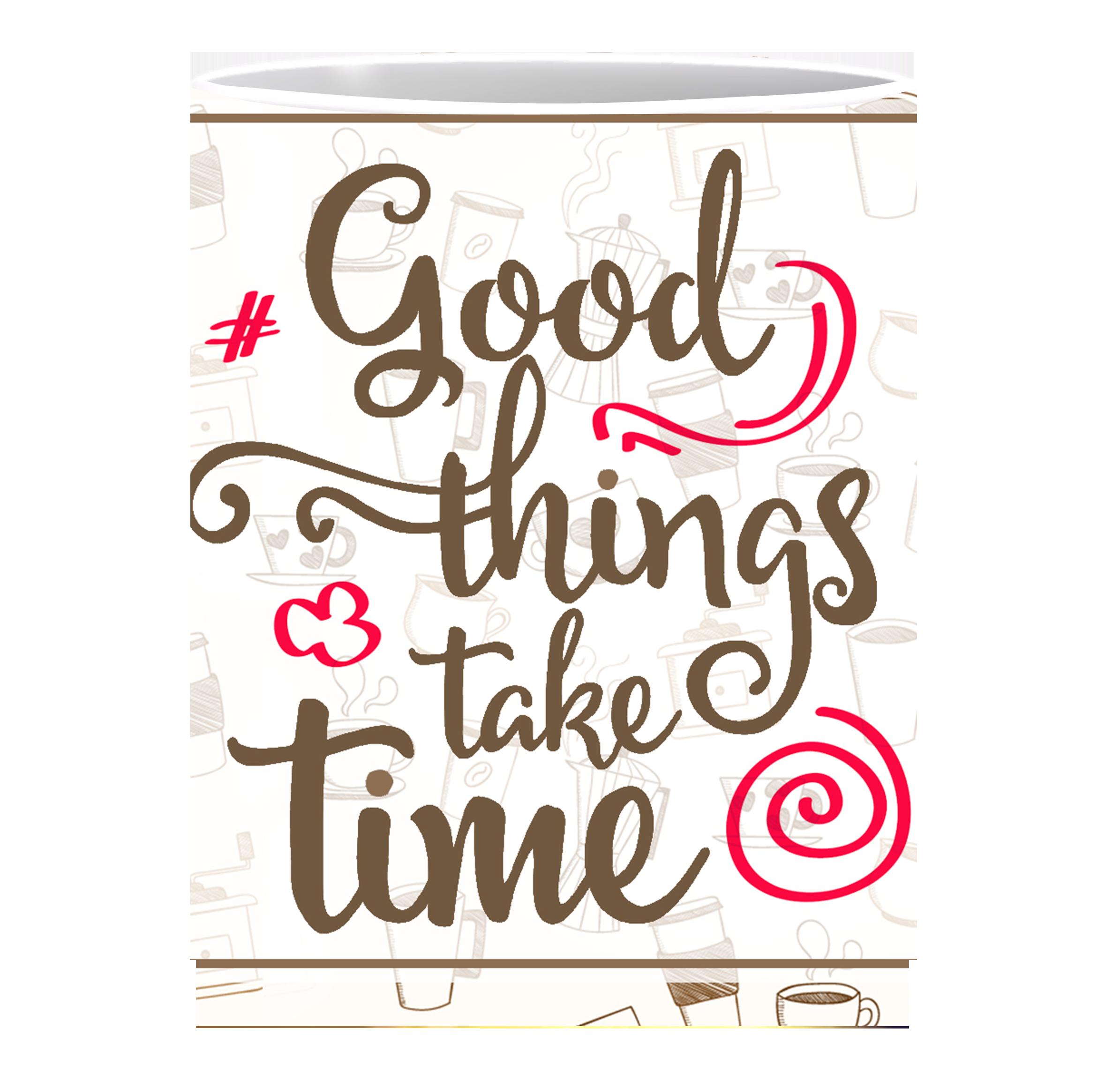 Coffee Mug, Good Things