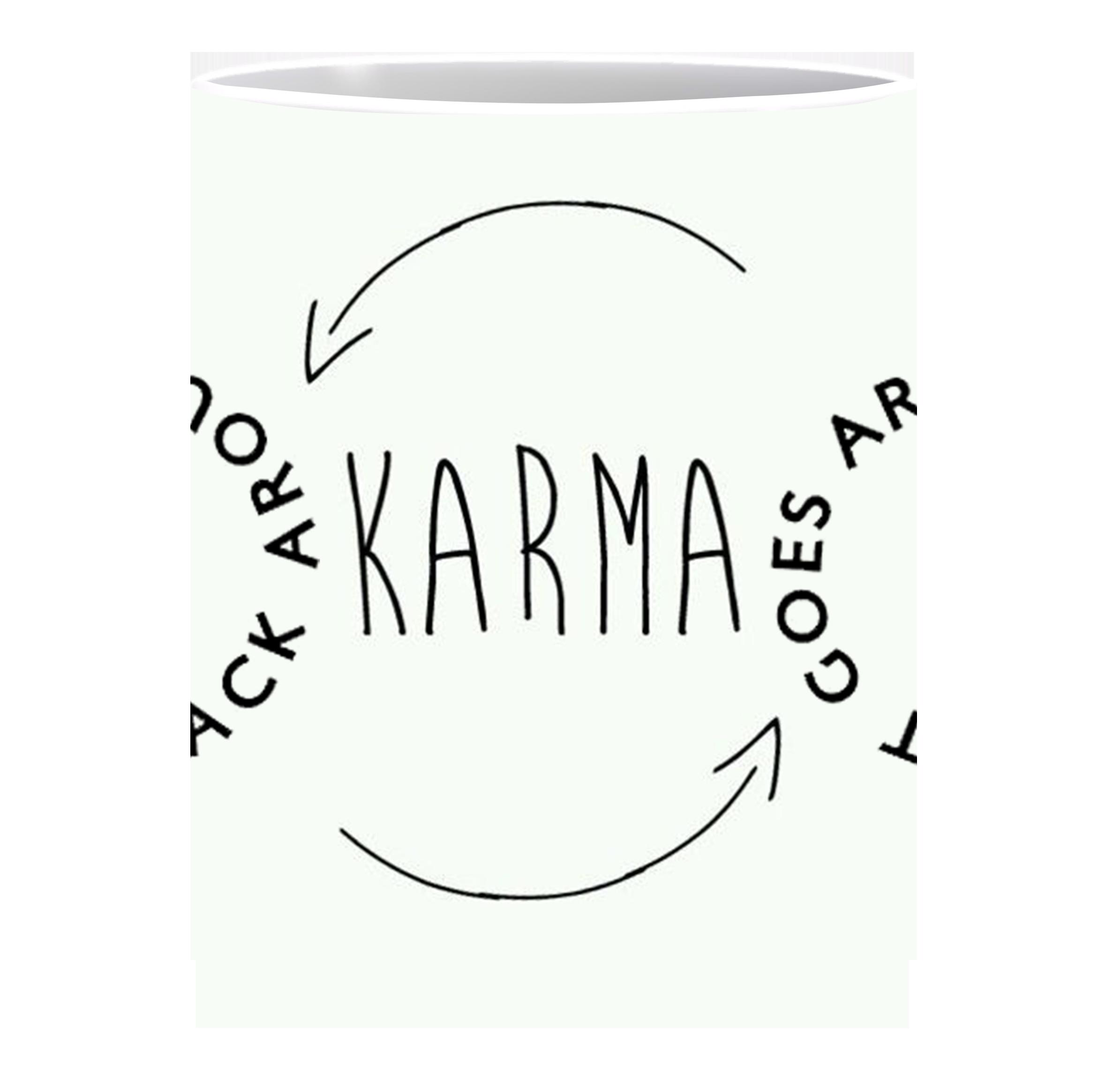 Coffee Mug, Karma Sky