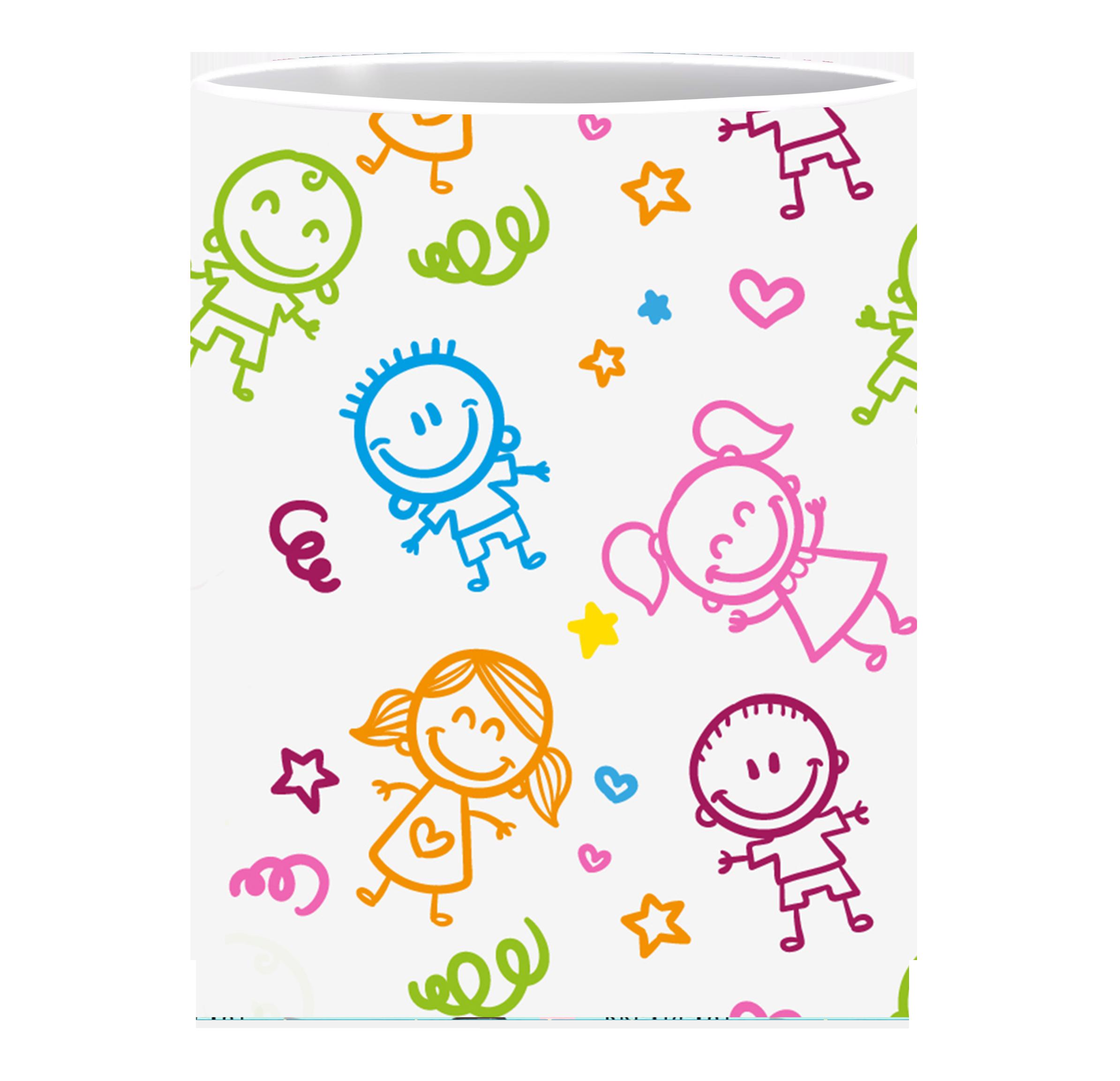 Coffee Mug, Kids Multi