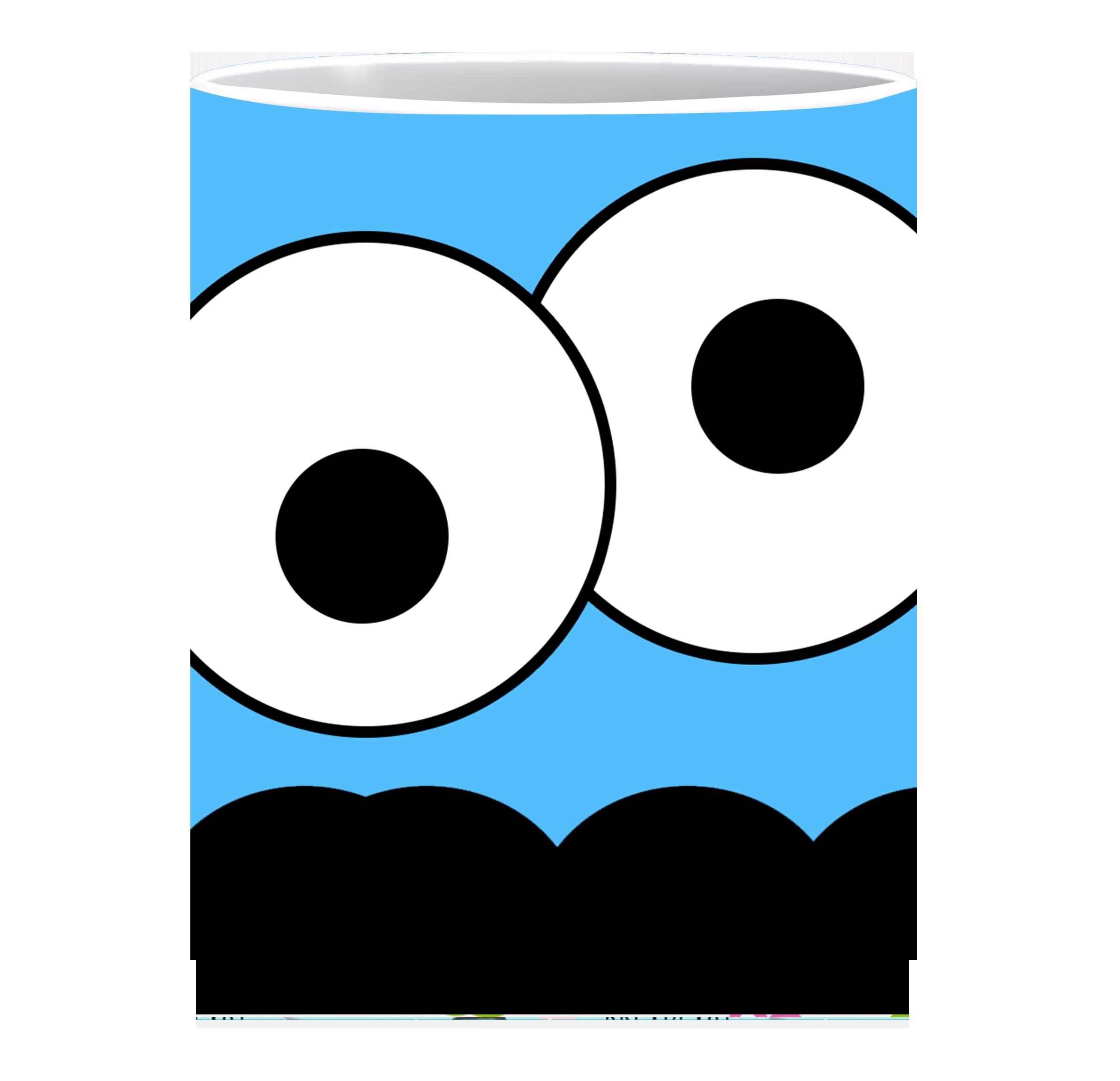 Coffee Mug, His Eyes