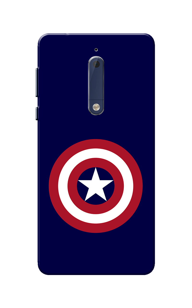 Nokia 5 Case, CA Navy