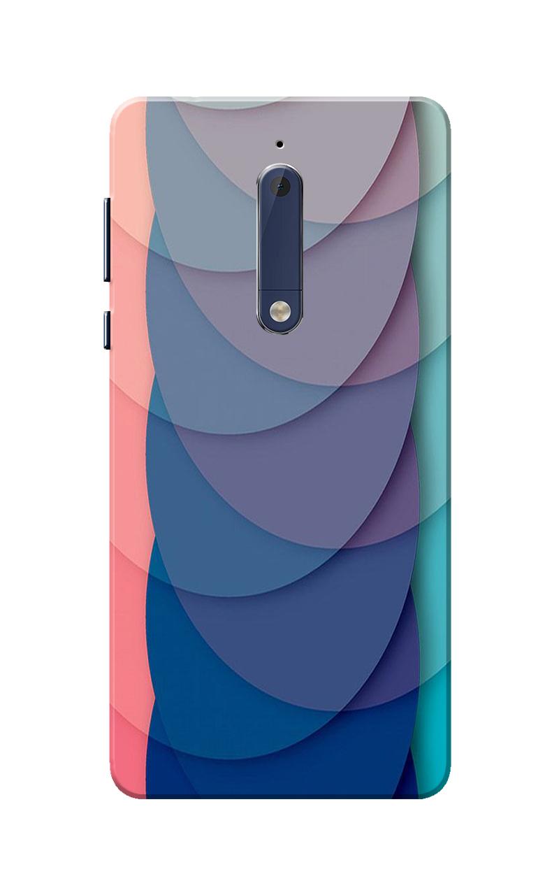 Nokia 5 Case, Half Circles