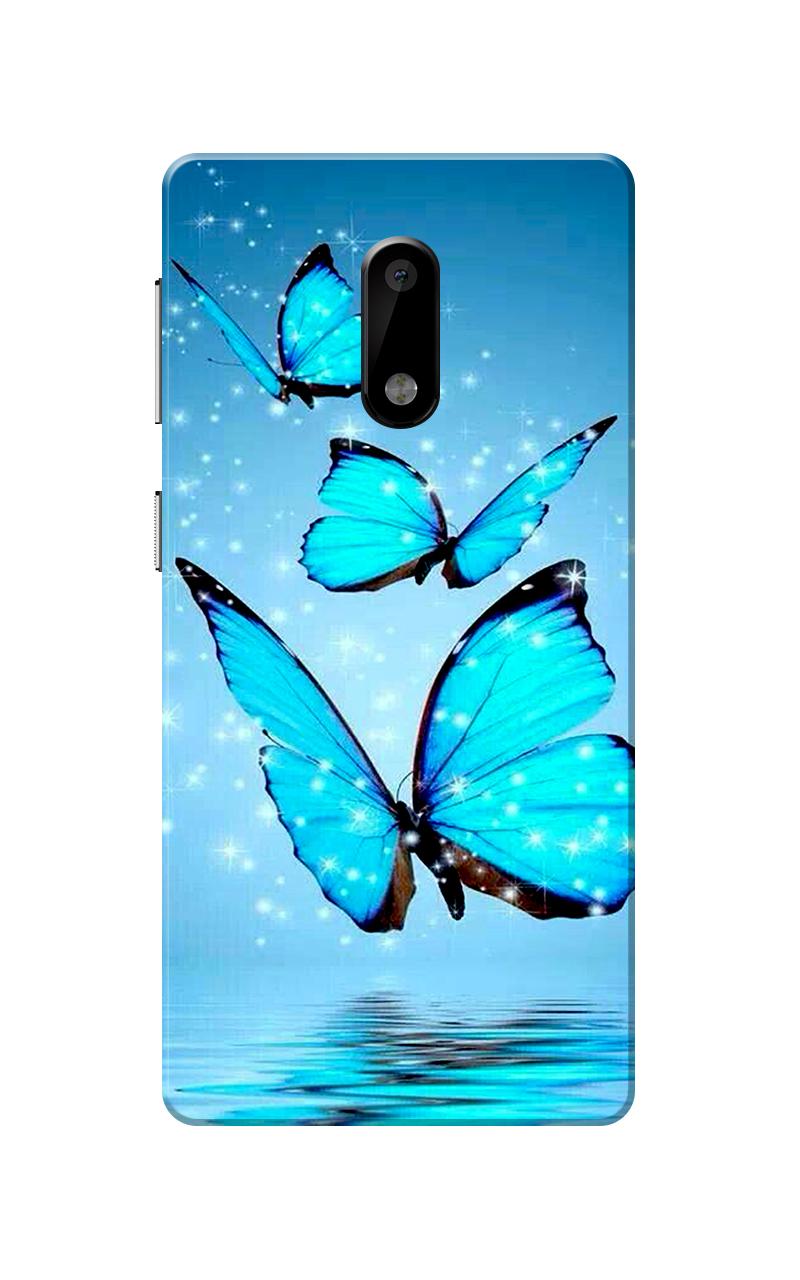 Caseria Butterflies Blue