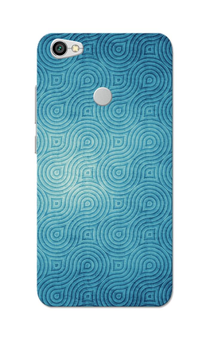 Caseria Blue Waves Pattern