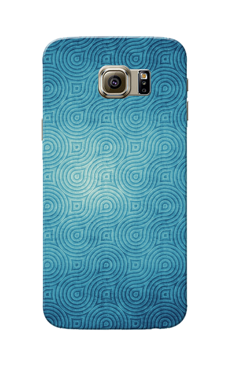 Caseria Blue Waves Pattern