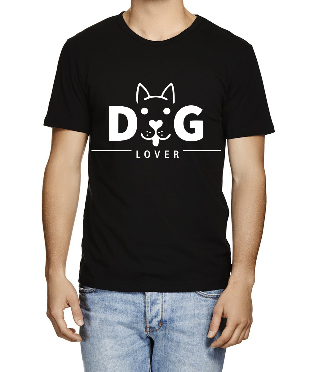 Printed T-shirts Dog lover