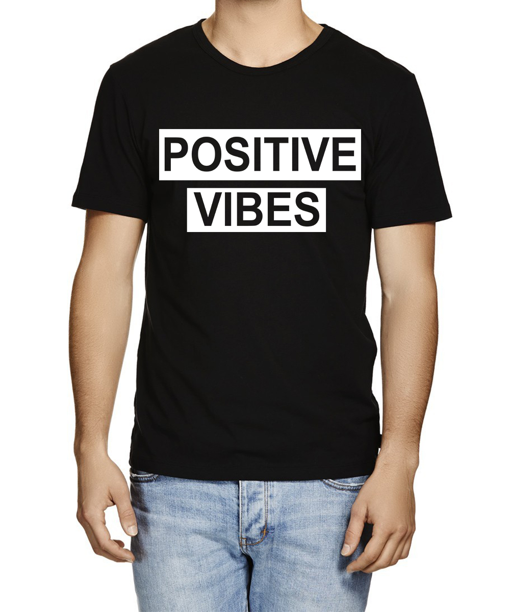 Printed T-shirts Positive