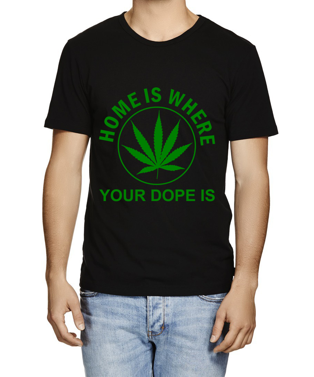 Printed T-shirts Home Dope